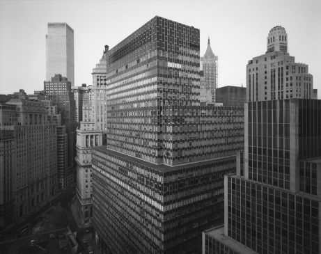 View of Battery Plaza, New York City, 1975