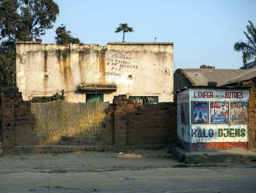 Cette maison n'est pas à vendre et à vendre, Lubumbashi, 2016