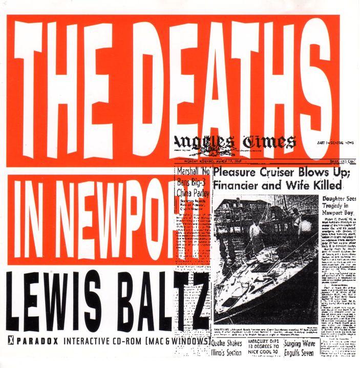 Lewis Baltz, The Deaths In Newport, 1989-1995 Interactive Cd-Rom