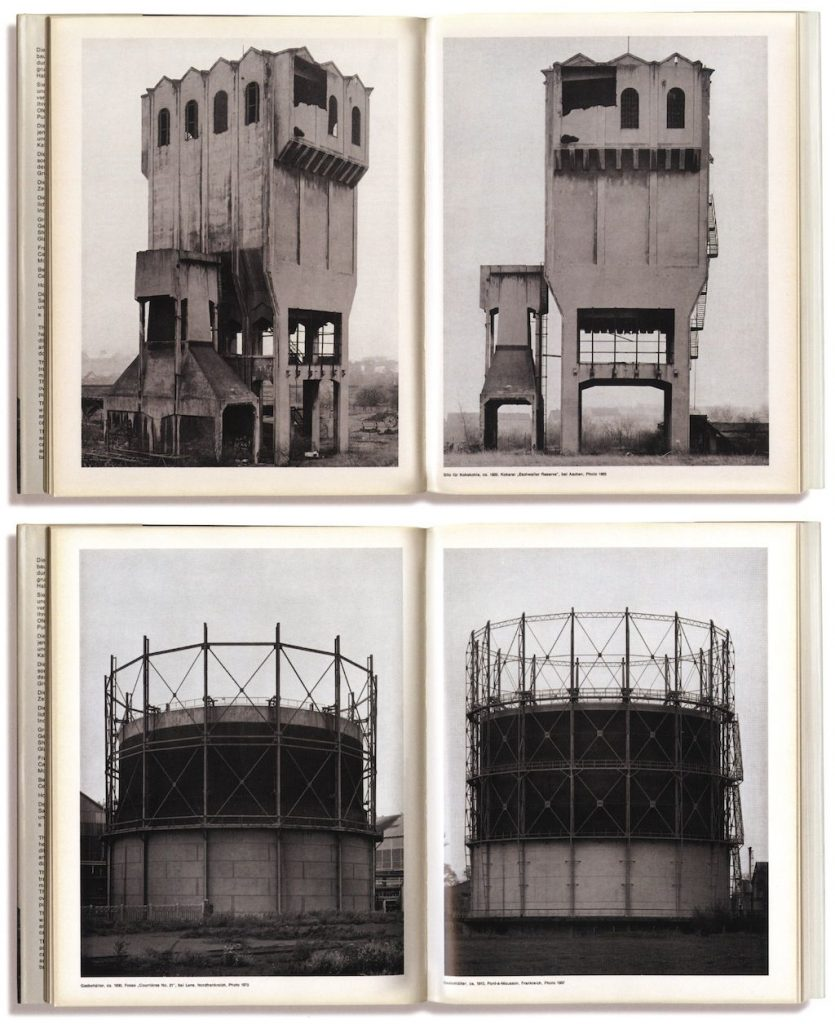 Bernd und Hilla Becher, Anonyme Skulpturen Edition, Art-Press Verlag Düsseldorf, Allemagne, 1970