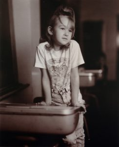 Judith Joy Ross, Tara Schwenk, 2nd Grade, A.D.Thomas Elementary School, Hazleton, Pennsylvania, 1993