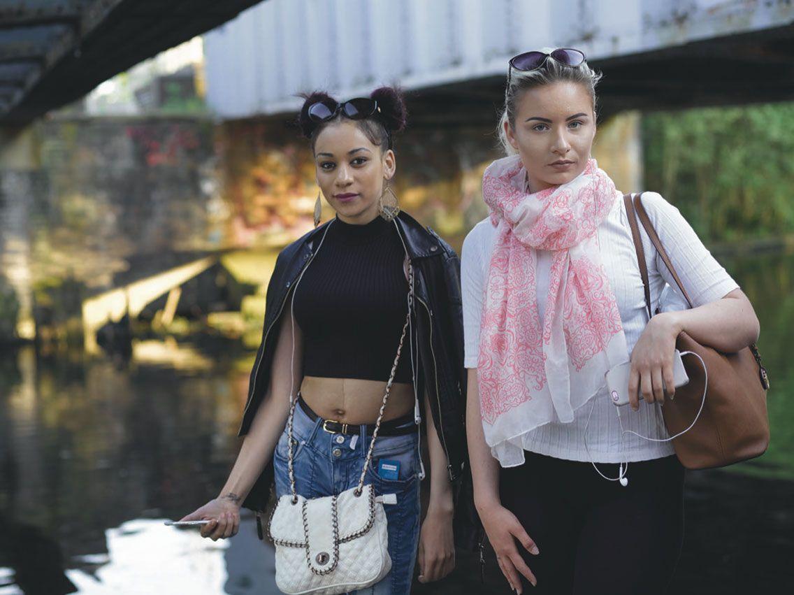 Tamara and Veronica, Lower Lea Valley, 2016