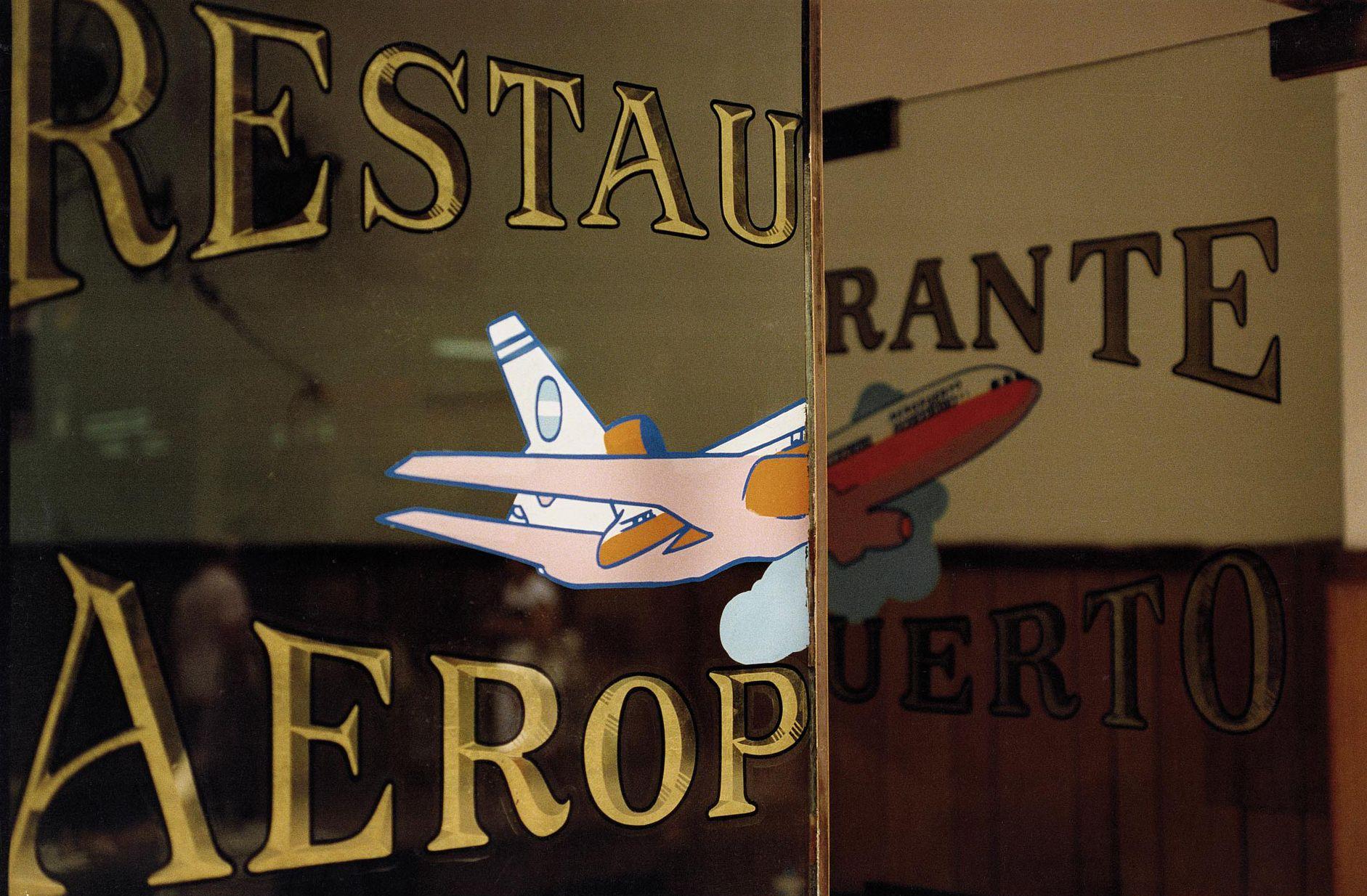 Restaurante Aeropuerto, Microcentro, 1986