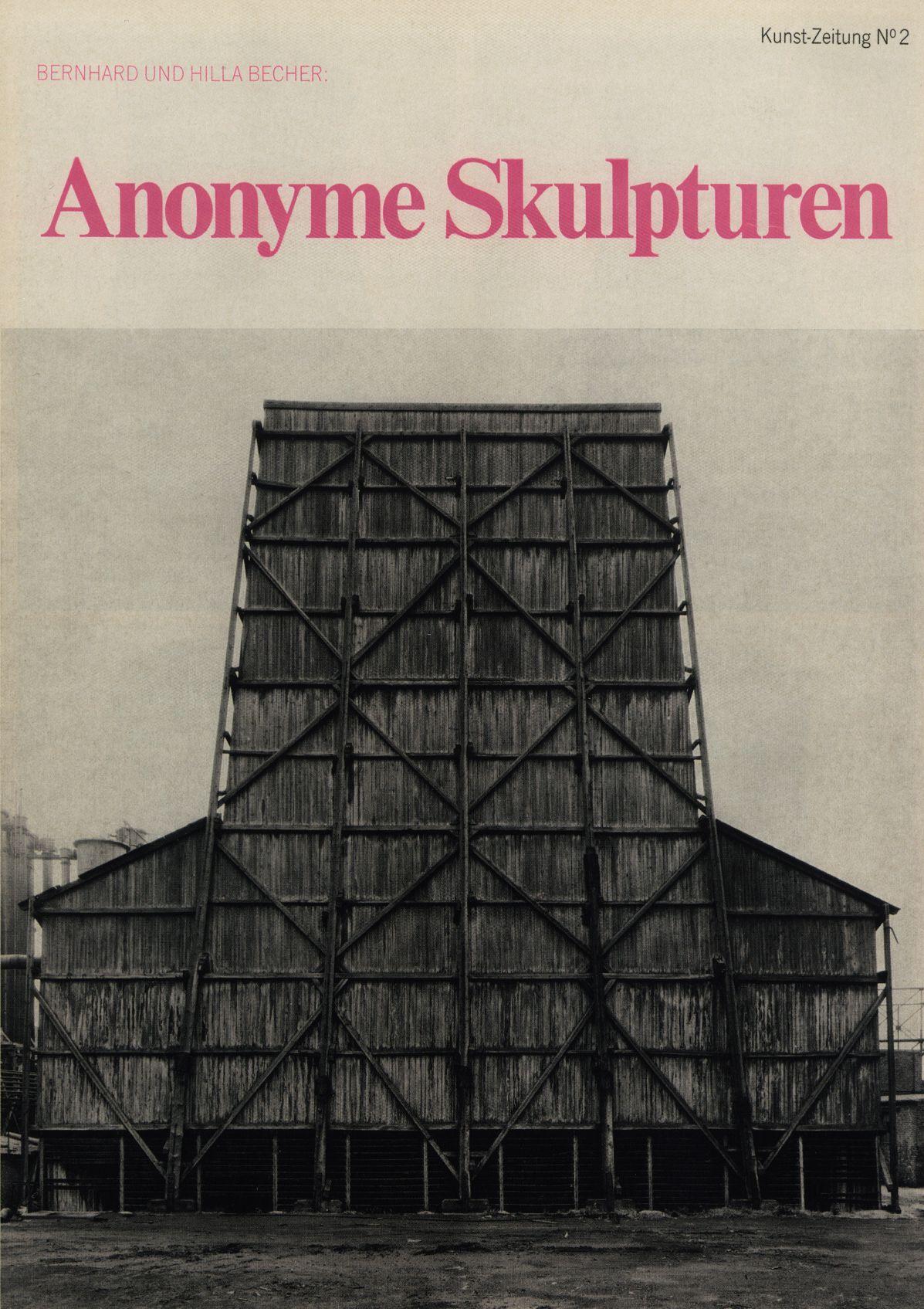 Bernd und Hilla Becher, Kunst Zeitung N°2 Anonyme Editions Michelpresse, Düsseldorf, janvier 1969